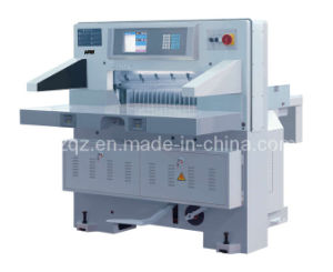 Full Hydraulic Energy-saving Paper Cutter (MQZK686/813) pictures & photos