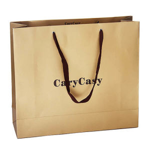 Brown Paper Bag with Side Gusset