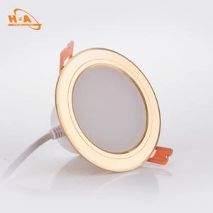 Pure Aluminum Warm Light COB Downlight for Living pictures & photos
