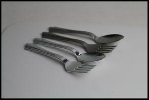 Disposable Chrome Cutlery