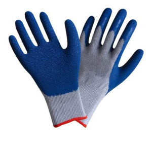 Latex Coated Cut Resistance Gloves pictures & photos