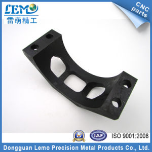Precision OEM Aluminum 6063 CNC Machining Parts with Black Anodized pictures & photos