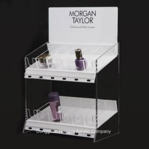 OEM Fashion Makeup Mac Products Acrylic Cosmetic Display Stand