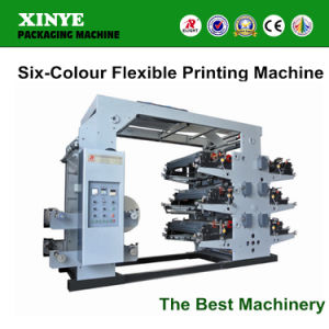 Hot Sell Six Color Flexographic Printing Machine pictures & photos