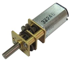 China Small Dc Geared Motor For Robot And Door Lock
