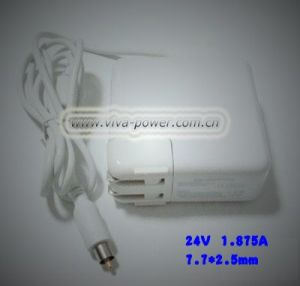 Laptop AC Adapter for APPLE 24V 1.875A