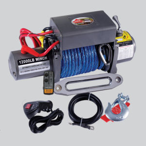 SUV Electric Winch 12000lb CE Approved Waterpoor Winch pictures & photos