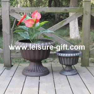 Antique Plastic Plant Pot (FO-9883) pictures & photos