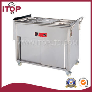 Commercial Gas Bain Marie with Wheels (GBS) pictures & photos