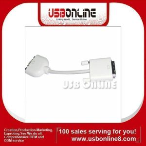 DVI to VGA DB15 Female Monitor Cable (WSS-DVI-15)