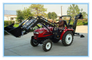 Garden Tractor Fit with 4in1 Front End Loader, Backhoe (TZ03D, LZ284/LZ304/LZ354) pictures & photos