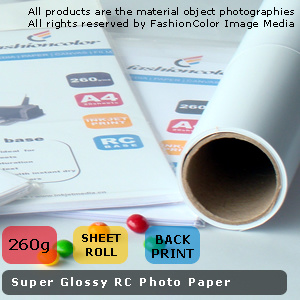 210GSM RC Glossy Inkjet Photo Paper Sheets and Rolls (RC210)