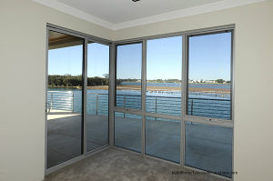 Condensation Channel Double Glass Windows with American Standards pictures & photos