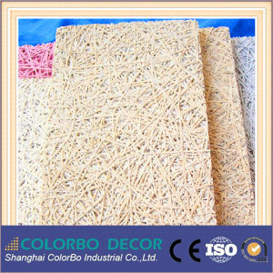 Office Decoration Wood Wool Acoustic Wall Boards pictures & photos