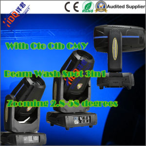 350W 17r Beam Spot Wash 3in1 Moving Light with Cmy pictures & photos