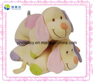 Colorized Dog Pillow Toy (XDT-0265) pictures & photos
