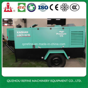 Kaishan LGCY-12/12 Diesel Portable Screw Air Compressor for Mining pictures & photos