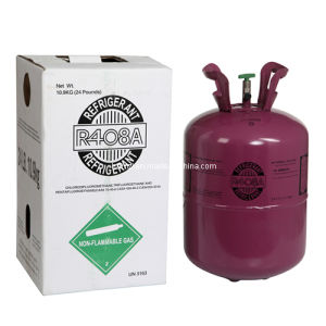 R408 Refrigerant Gas 10.9kg/25lb for Air Conditioning