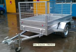 Box Trailer Tr0303 pictures & photos