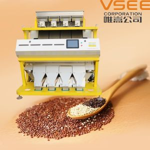 Vsee RGB Full Color Red Quinoa Color Sorter pictures & photos