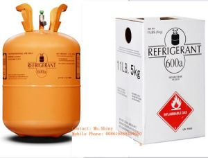 Isobutane R600A Packing 11lb/5kg with GB Standard