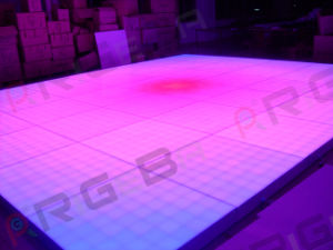 Wedding Party Stage 1m*1m Professional Version LED Digital Dance Floor Light pictures & photos