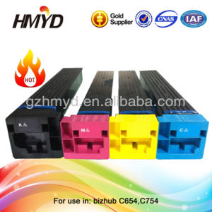 4 Color Tn711 Remanufactured Toner Cartridge for Bizhub C654 C754 Made in China