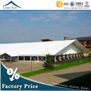 30m Width Large Luxurious European Style Event Marquee Tent with Solid Wall pictures & photos