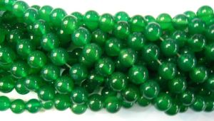 10mm Green Agate Gemstone Loose Beads