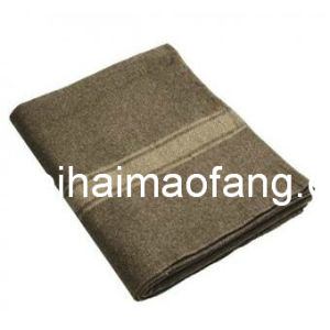 Woven Woolen 30%Wool/70%Polyester Blended Relief/Refugee Blanket pictures & photos