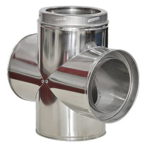 Twist Lock Cowl Chimney Cap Stainless Steel Chimney Cross pictures & photos