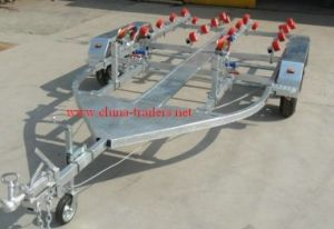 Dual Tandem Jet Ski Trailer with Roller pictures & photos