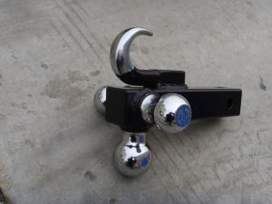 Tri Ball Hitch With Hook