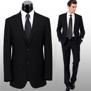 Super 150′ 100% Wool Men Business Suit Slim Suit pictures & photos