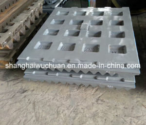 Casting Parts Jaw Plate for Jaw Crusher pictures & photos