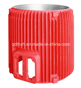 OEM Sand Casting Motor Housing/Motor Cover/Motor Body by Ductile Iron pictures & photos