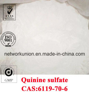 Factory Supply Quinine Sulfate Dihydrate (Quinine Hemisulfate) CAS No: 6119-70-6 pictures & photos