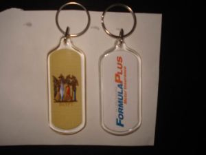 Acrylic Key Chain for Sales Promotion