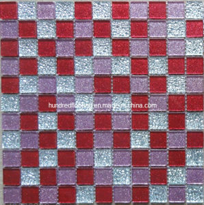 Wall Mosaic Glass Mosaic Tile (HGM317) pictures & photos
