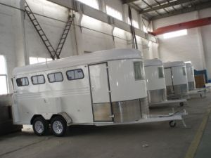 4 Horse Trailers Deluxe (GW-4HAL) pictures & photos