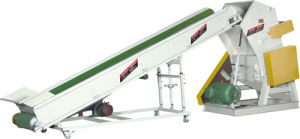 Plastic Crusher with Conveyor Belt (FS800B-3) pictures & photos