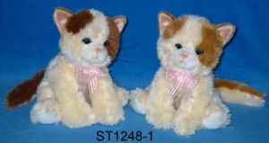Plush Cats (ST1248-1-2)