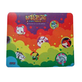 Rubber Mouse Mat with Skidproof Function pictures & photos
