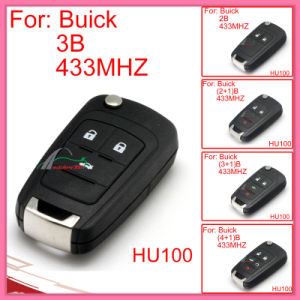 Remote Key for Auto Buick with 2 Buttons 433MHz pictures & photos