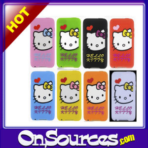 Hello Kitty Bibasic Silicone Case Cover for iPhone 3G 3GS