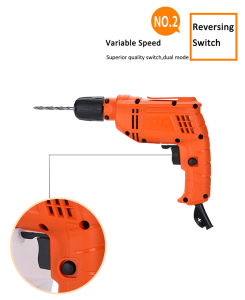 450W Electric Drill with High Quality Switch pictures & photos