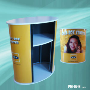 Charming Reception Center Promotion Counter Promotion Table Stand (PM-07-N) pictures & photos