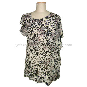 Ladies Silk CDC Top