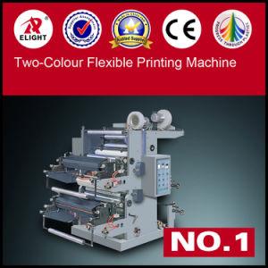 Ruian Xinye Plastic Two Colour Flexo Printing Machine pictures & photos
