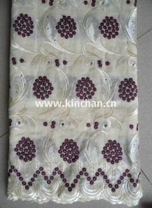 Cotton African Swiss Voile Handcut Lace pictures & photos